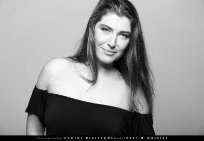 Schwarzweiß Portraits mit Astrid